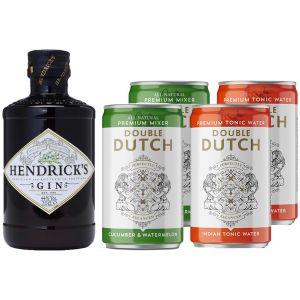 Hendrick's Gin 20cl & Double Dutch Tonic Pakket