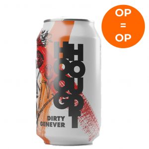 Hooghoudt Holland Dirty Genever Blikje 330ml