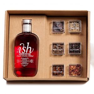 ISH Gin 70cl & Botanicals Boxed Set
