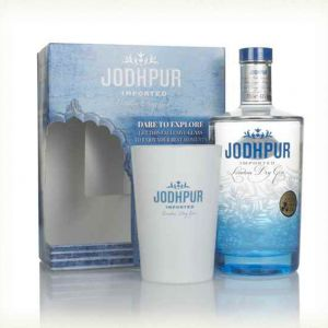 Jodhpur London Dry Gin 70cl Giftset