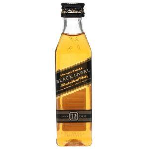 Johnnie Walker Black Label Whisky (Mini) 5cl
