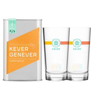 Kever Genever Kopstoot 50cl Promo Pack
