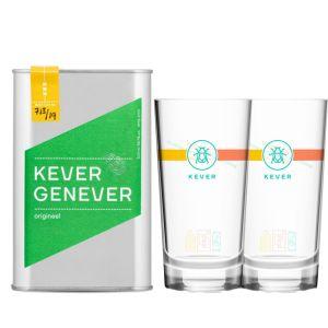 Kever Genever Original 50cl Promo Pack