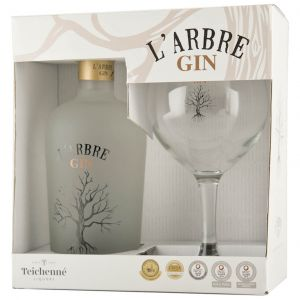 L'Arbre Gin 70cl Giftpack