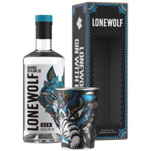 Lonewolf Gin 70cl Gift Pack