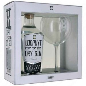 Loopuyt Dry Gin 70cl Giftpack