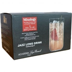Luigi Bormioli Mixology Jazz Long Drink Glazen 6pk