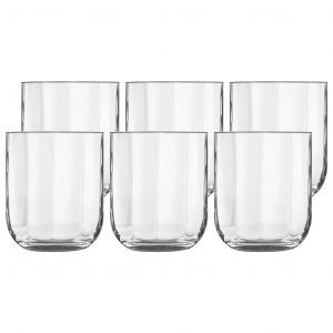 Luigi Bormioli Mixology Jazz Rocks Whisky Glasses 6pk