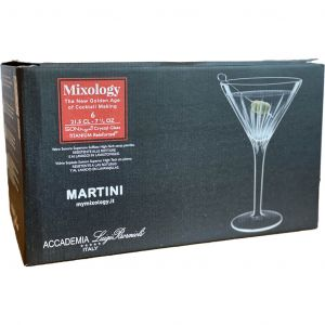 Luigi Bormioli Mixology Martini Glasses 6pk