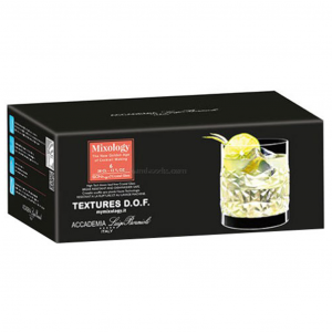 Luigi Bormioli Mixology Textures Glazen 6pk