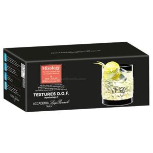 Luigi Bormioli Mixology Textures Glasses 6pk
