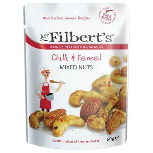 Mr Filbert's Mixed Nuts Chilli & Fennel 50g