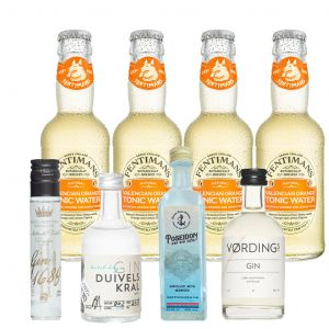 Dutch Gin en Orange Tonic Premium Proefpakket