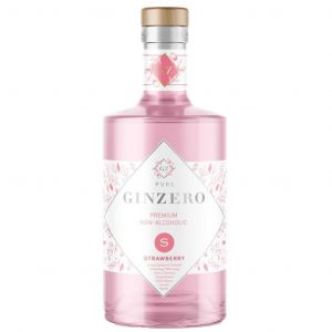 Pure GinZero Strawberry Alcohol Free Gin 70cl