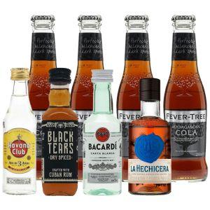 Rum & Fever-Tree Cola Proefpakket