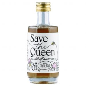 Save The Queen Elderflower Liqueur (Mini) 5cl