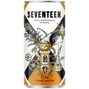 Seventeen 1724 Tonic Water Blik 200ml