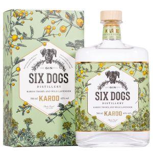 Six Dogs Karoo Gin 70cl