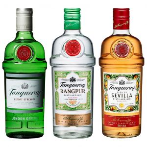 Tanqueray Gin Variety Pack (3 x 70cl)