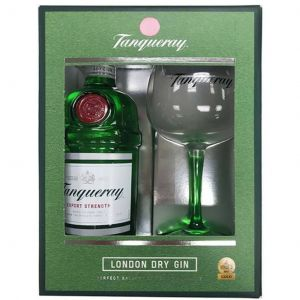 Tanqueray London Dry Gin 70cl Gift Pack