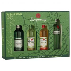 Tanqueray Gin Proefset 4 x 5cl