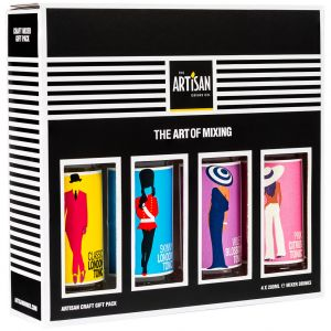The Artisan Drinks Co Cadeaupakket 4 x 200ml