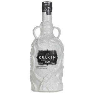 The Kraken Black Spiced Rum 70cl - Limited Edition White Ceramic