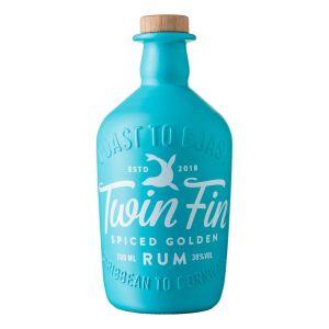 Twin Fin Spiced Golden Rum 70cl