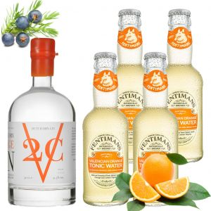 V2C Orange Gin en Fentimans Tonic Pack