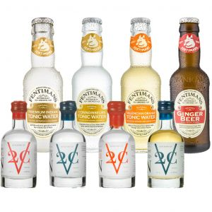 V2C en Fentimans Mixers Tasting Pack