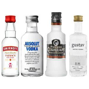 Wodka Proefpakket 4 x 5cl