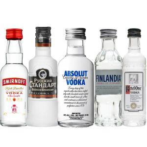 Wodka Proefpakket 5 x 5cl