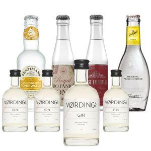 Vørding Gin en Tonics Tasting Pack