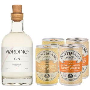 Vørdings Gin20cl & Tonic Pakket