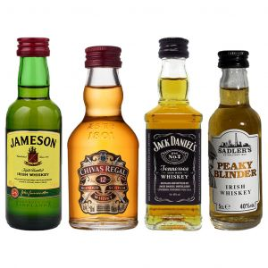 Whisky Minis Proefpakket 4 x 5cl