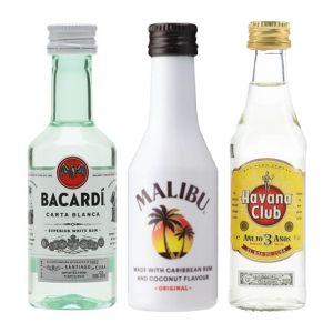 Witte Rum Proeverij 3 x 5cl