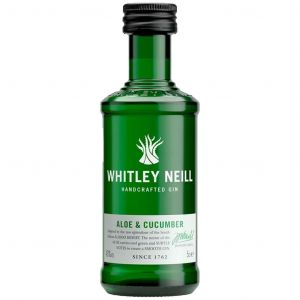 Whitley Neill Aloe & Cucumber Gin Mini 5cl