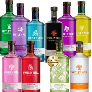 Whitley Neill Gin 3 x 70cl for €65