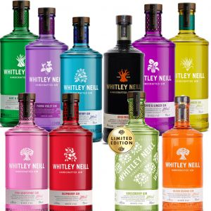 Whitley Neill Gin 3 x 70cl voor €65