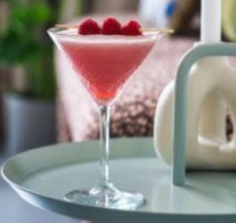 Festive Cocktail - Clover Club