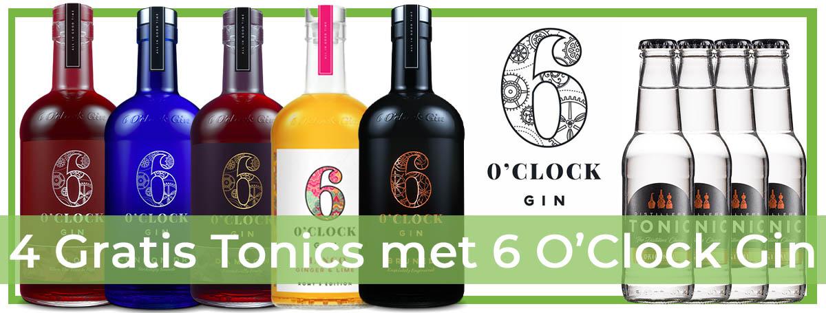 6 O'Clock Gin Promotion