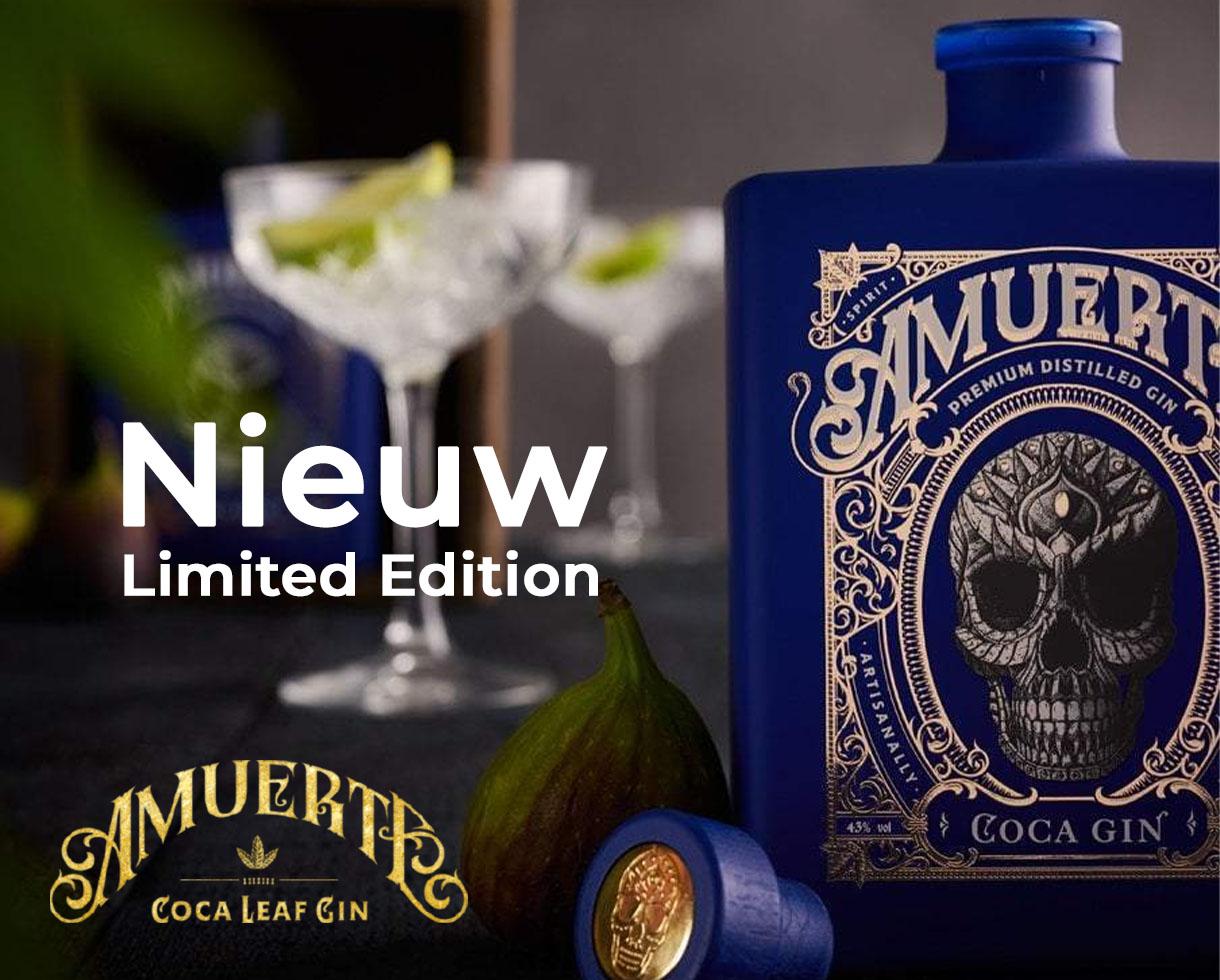 Amuerte Coca Leaf Gin - Blue Edition