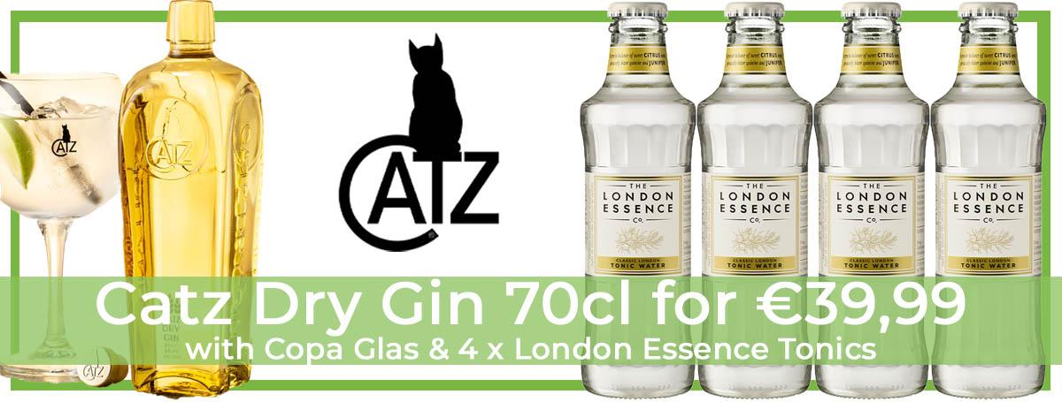 Catz Gin Promo Pack