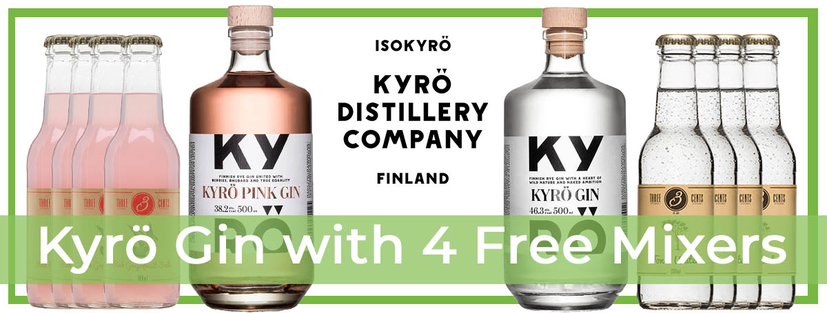 Kyro with Free Mixers