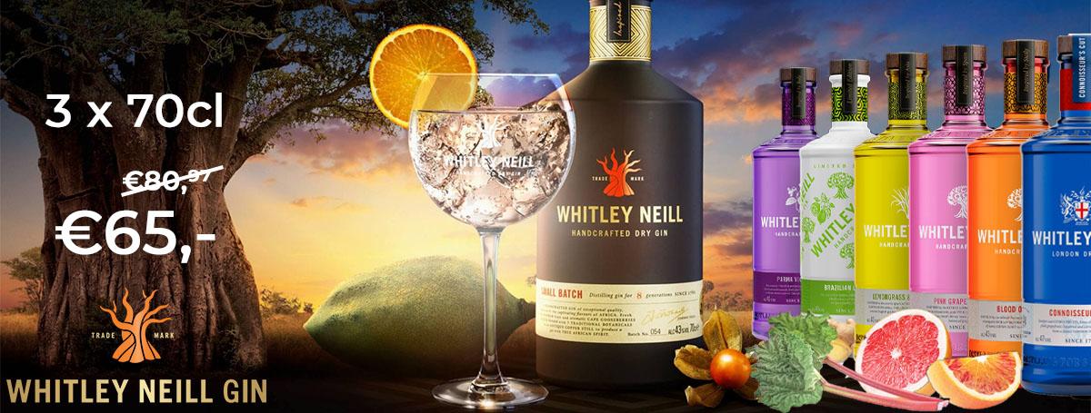 Whitley Neill 3 voor 65